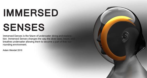 Immersed Senses - Diving Helmet by Adam Wendel