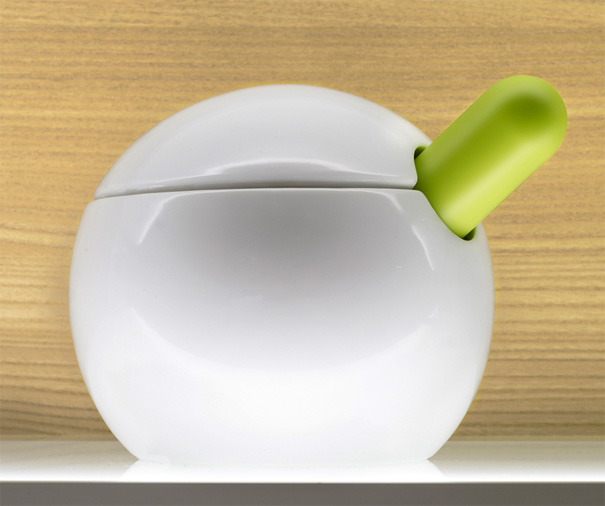 Orb 3-piece Pestle & Mortar by Morph for Joseph Joseph