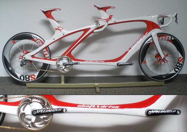 Tandem Speed tandem bike by Robert Zuchowski