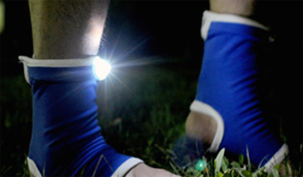 Private Light – Lights On Socks by Boyoung Joo Park