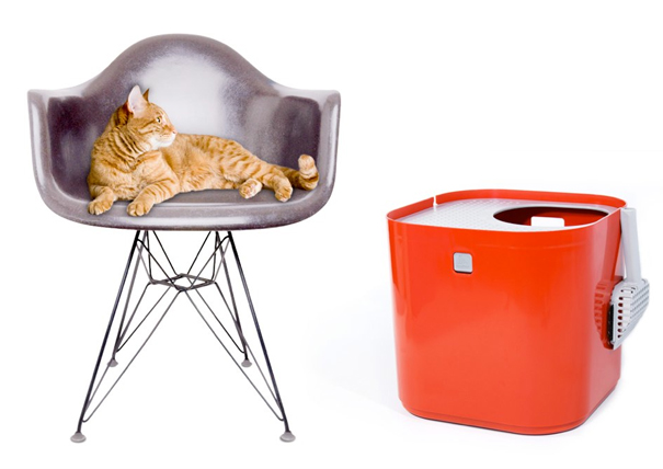 Modcat cat litterbox by Rich Williams