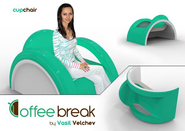 Coffe Break furniture set by Vasil Valchev