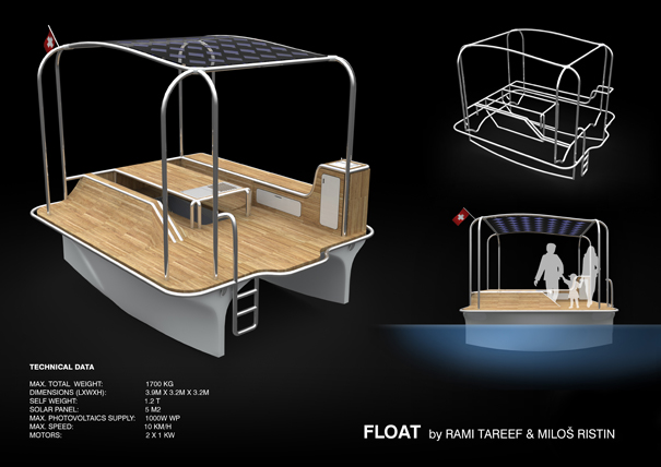 Float by Rami Tareef & Milos Ristin