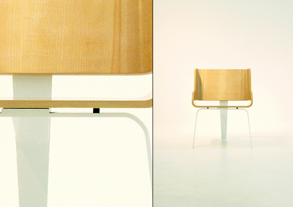 Stud table and chairs by Cho Hyung Suk