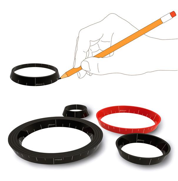 Stacking Rulers by Jung-Woo Lee for Ek Design