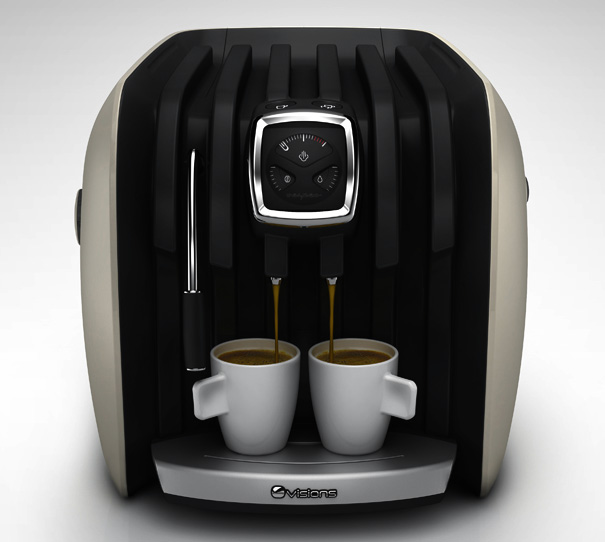 Vespeo Espresso Machine by Stefan Radev