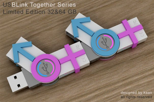 USB Link Together Series by Kaan Kiris