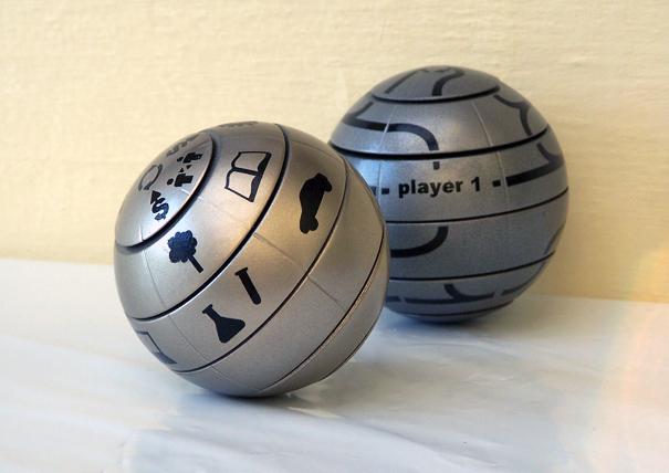 Welcome! spherical game by Karel Vranek