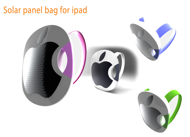 Solar Panel Bag & Band for iPad by Seo Eul Hwa