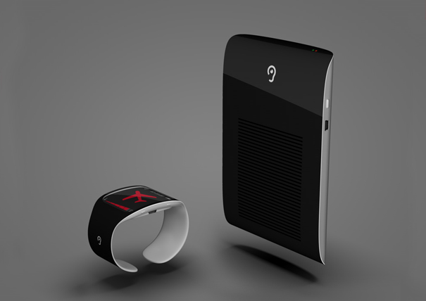 Wristband for the Hearing Impaired by Konstantin Datz