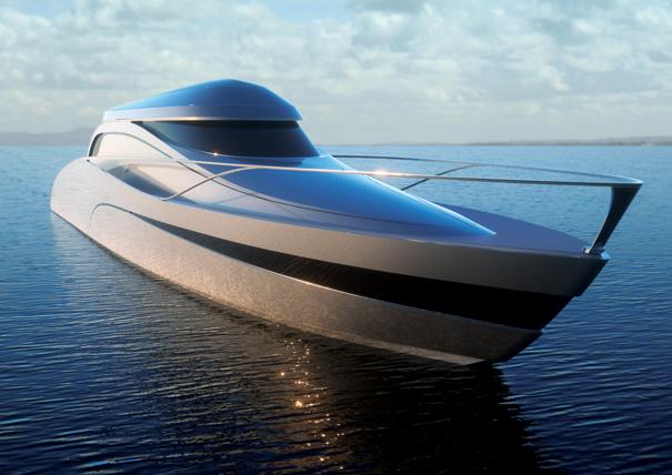 Atreides Yacht av Vuk Dragovic
