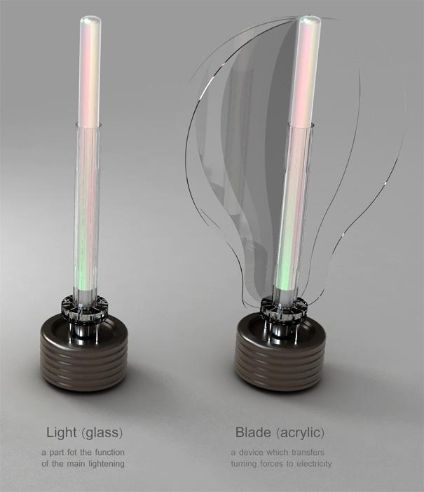 Pinwheel Outdoor Light Concept by Eon Tae Yoon