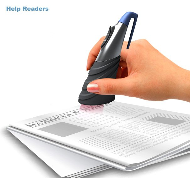 Help Readers – Scan Text To Voice Device by Qu Xinbo