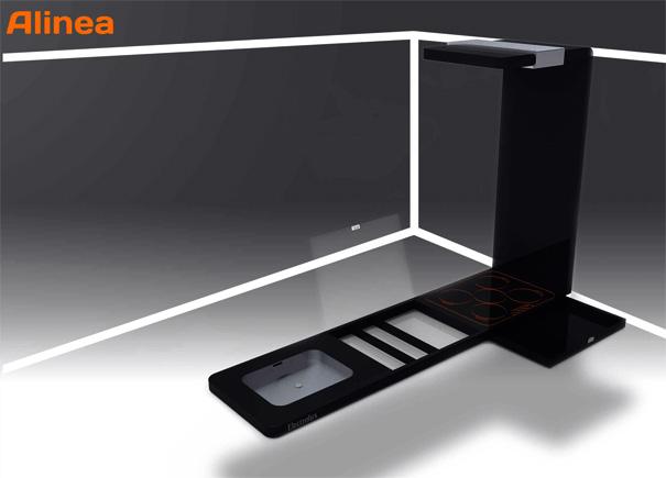 Electrolux Alinea Kitchen Concept by Patrick Short