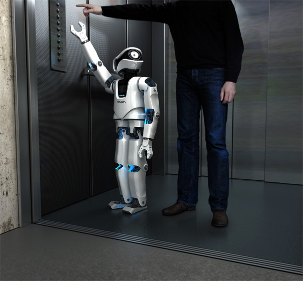 Humanoid Robot Myon by Frackenpohl Poulheim