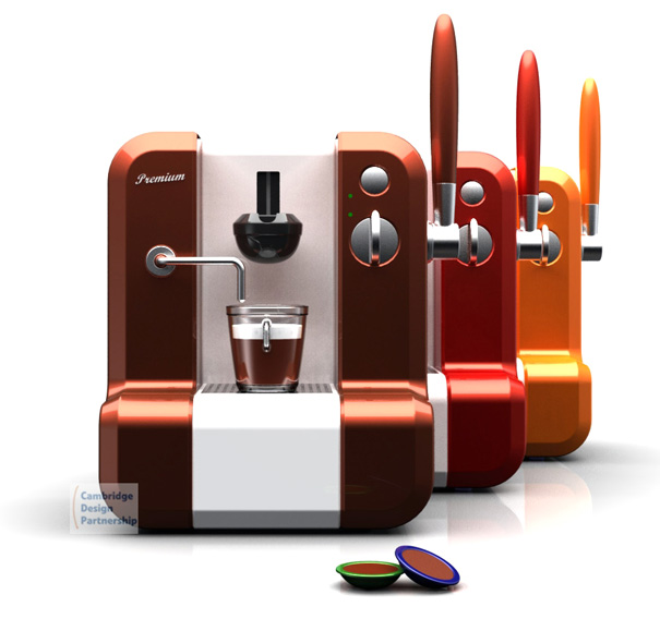 Maya - Hot Chocolate Drink Machine by Cambridge Design Partnership