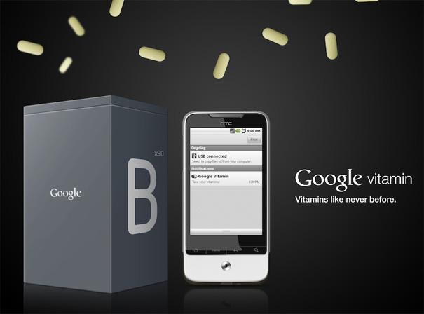Google Vitamin Concept by Andrew Seunghyun Kim