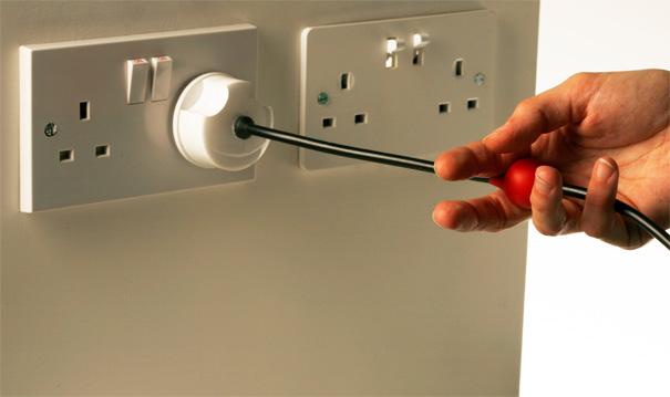 3 Pin British Plug by Konstantinos Ladas