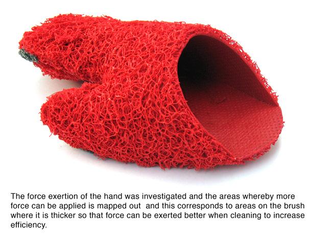 Brush Glove by Liang Yanjie