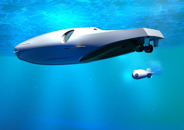 U-010 Undersea Yacht by Marina Colombo & Sebastiano Vida