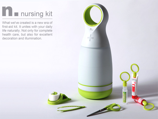 N. Nursing Kit by Sheng-Hong Li & You-Lin Chen