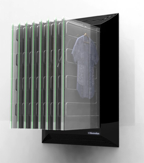 Electrolux Clean Closet - All in One Laundry Concept by Michael Edenius