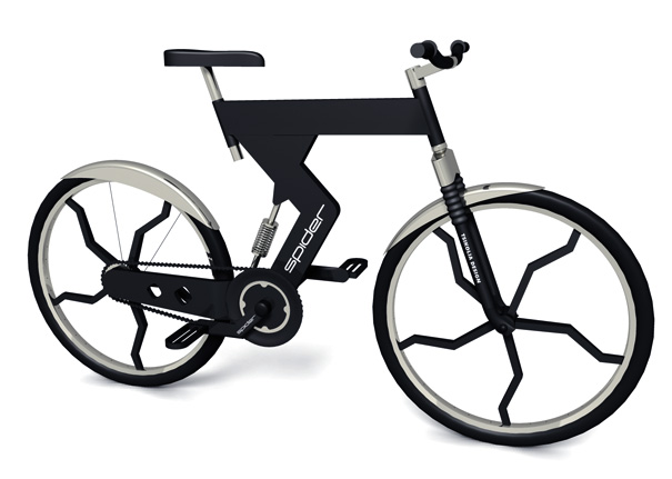Spider Bike by Zviad Tsikolia forTsikolia Design R&D Ltd.