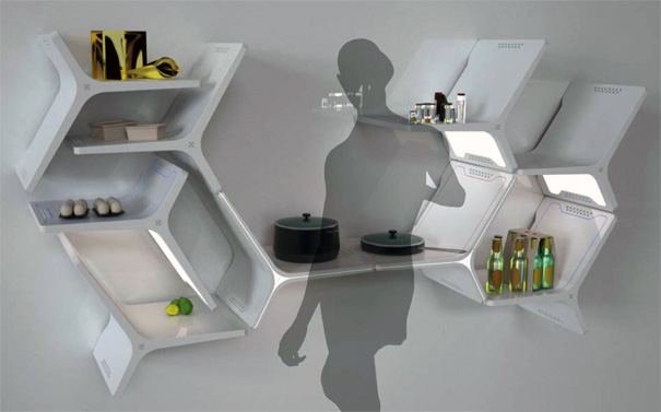 Electrolux Elements Modular Kitchen By Mathew Gilbride