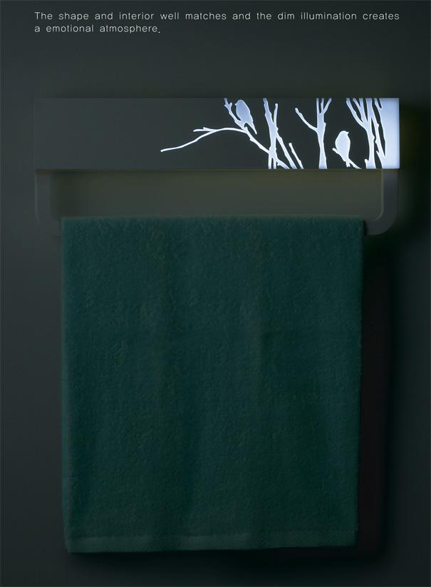 Towel Hanger by Kim Jin Yeong