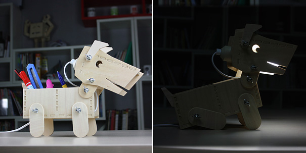 DIY Doggy Desktop Lamp by David Zhang