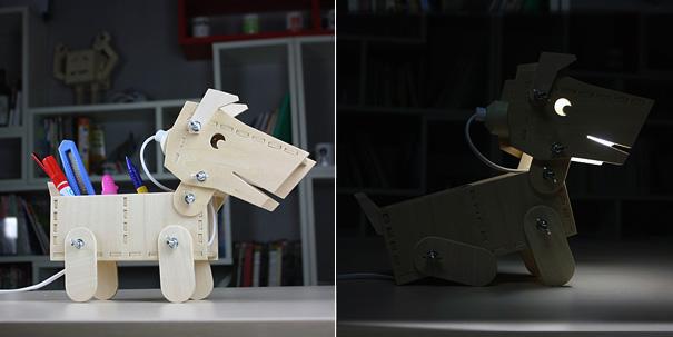 DIY Doggy Desktop Lamp by David Zhang