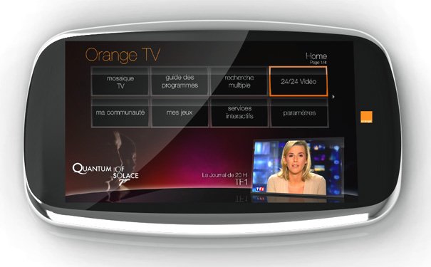 Magic Orange - The Multimedia Range by Jerome Olivet