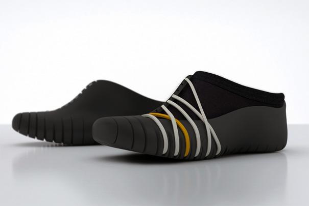 980 TATOU – Shoes For Le Parkour by Annika Lüber