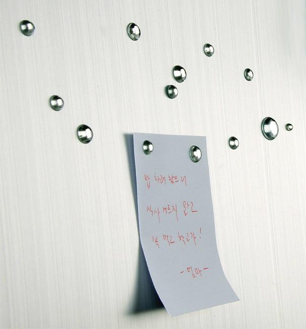 Waterdrop Magnet by Sangwoo Nam