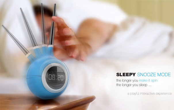 Sleepy Alarm Clock With Snooze by Pedro Gomes