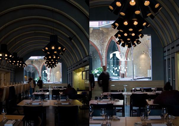 Burgundy wine bar and restaurant in beirut lebanon by PSLAB Beirut