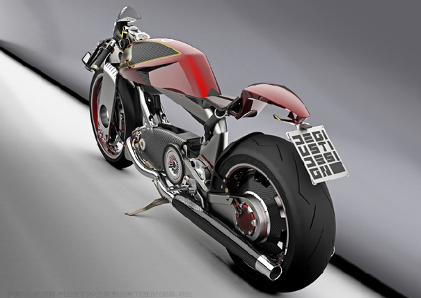Big Mono Naked and Big Battery Naked motorcycles by Paolo De Giusti