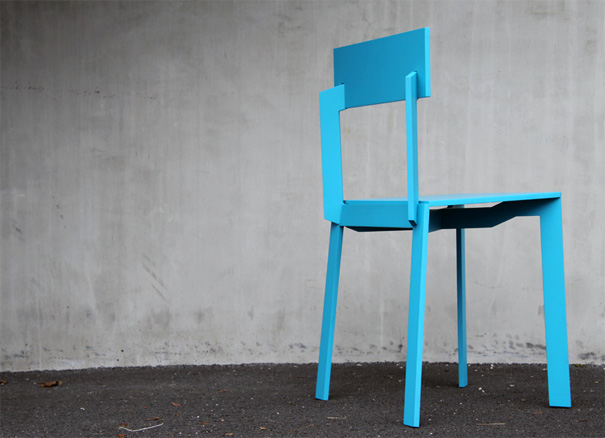 A Really Flat Chair