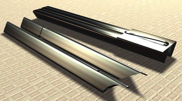 Prism Magnets Pens Yanko Design