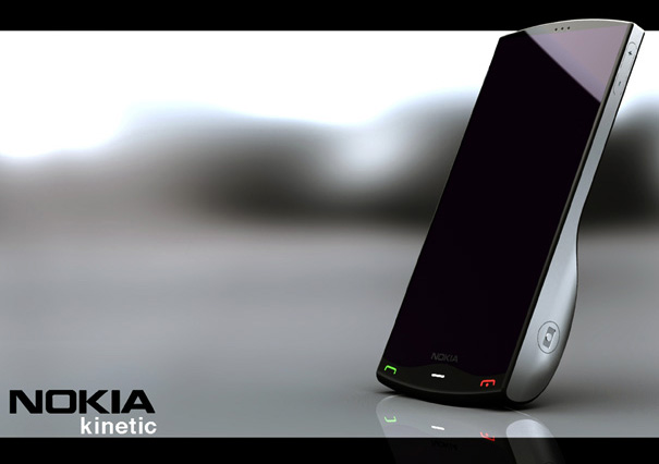 Nokia Kinetic Concept Phone by Jeremy Innes-Hopkins