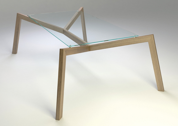 Daddy Long Legs table by Elvis Tomljenovic and Samir Secerkadic