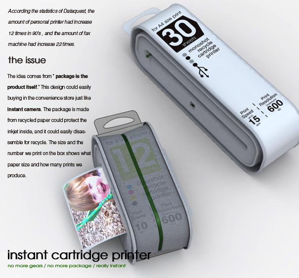 Instant Cartridge Printer by Yuexun Chen & Chia-Chen Hsiao