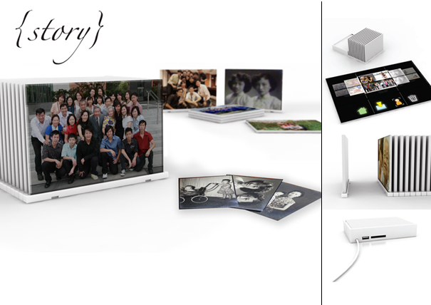 Story interactive photo sharing device by Liang Yanjie and Joanne Tan