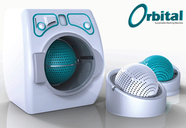 Orbital Washing Machine by Tiffany Roddis