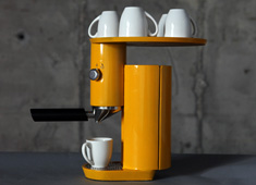 Yellow Looks Good On Coffee