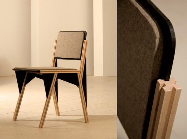 Gusset Chair by Peter Saloom
