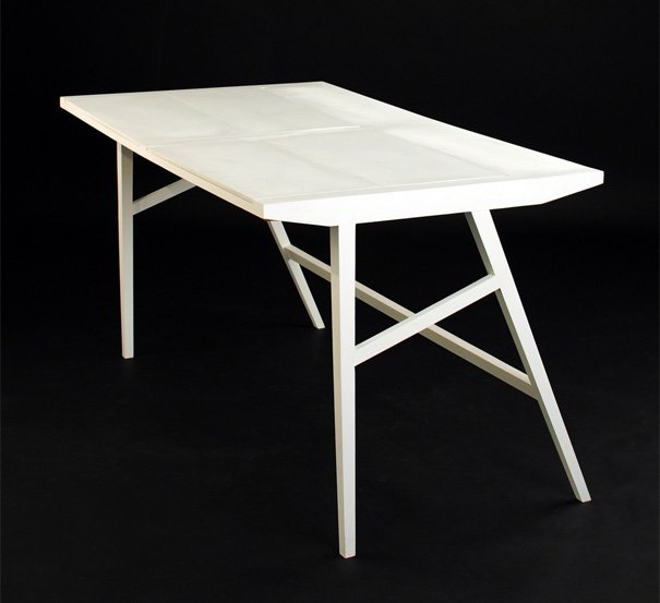 An Office Table by Rebwar Faille
