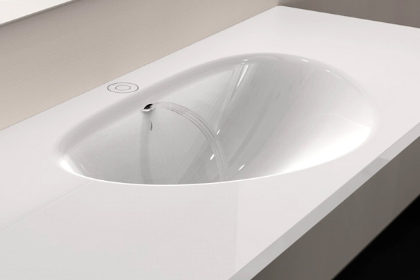 Spout Faucet And Basin by Charlwood Design