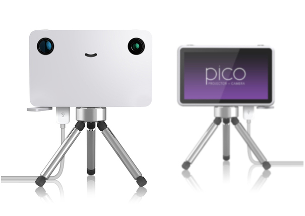 Pico the projector camera by Rene Woo-Ram Lee