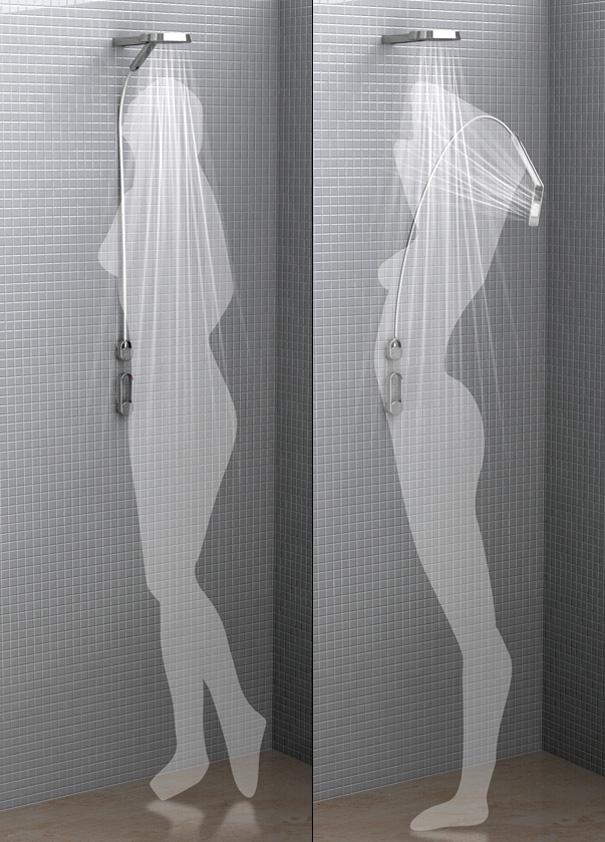 Dual Shower Is So Fantastic! | Yanko Design